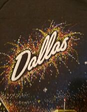 Vintage Dallas Skyline Sweatshirt Xl Mens Fruit of the Loom Black Gault Graphics