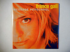 FRANCE GALL : MESSAGE PERSONNEL ♦ CD SINGLE NEUF ♦