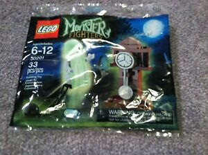 Lego Monster Fighters 30201 Ghost polybag in unopened polybag