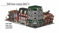 LEGO Custom Modular Buildings Collection - INSTRUCTIONS ONLY!
