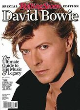 ROLLING STONE Magazine DAVID BOWIE THE ULTIMATE GUIDE TO HIS MUSIC AND LEGACY