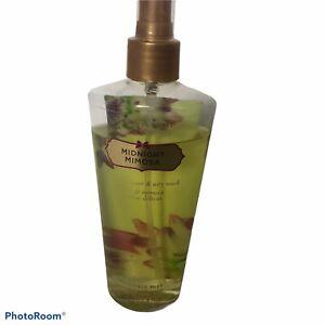 Victoria's Secret Midnight Mimosa Fragrance Mist 8.4oz Spray 90 % Full