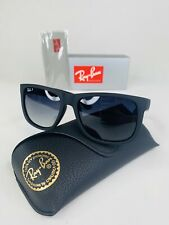 New Ray-Ban RB4165 622/T3 Justin Classic POLARIZED Black/Grey Gradient 54MM