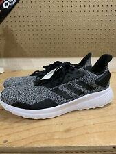 Men's Adidas® Duramo 9 Grey/Black BB6917 Running Athletic Shoes Size 10.5 Foam