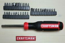 New - Craftsman Magnetic Screwdriver - 33 Bit Set