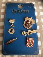 Harry Potter Pin Badges - Set of 6  Harry Potter GRYFFINDOR- Primark BNWT