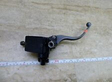 1984 Honda Shadow VT500 H1525. front brake master cylinder and lever