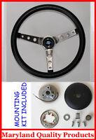 """New! 1985-1988 Ford Ranger Grant Black Steering Wheel 15""""  SS Spokes"""