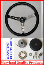 "New! 1985-1988 Ford Ranger Grant Black Steering Wheel 15""  SS Spokes"