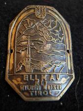 Ellmau mit Wilden Kaiser Tirol used badge stocknagel hiking medallion G4669