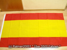 Fahnen Flagge Spanien ohne Wappen - 90 x 150 cm