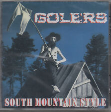 Golers - South Mountain Style CD - New / Sealed (2004) Thrash Metal Punk