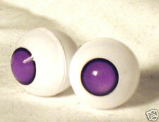 GRAPE JELLY 18mm Dollfie Special FX Pupiless Doll Eyes
