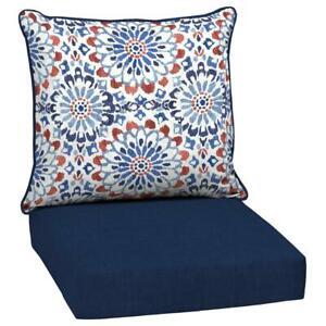 Clark 2-Piece Deep Seating Outdoor Lounge Chair Cushion
