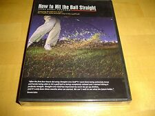 How to Hit the Ball Straight Golf Home Study Program