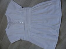 MARESE chemise fille  manches courtes  8 ans NEUF