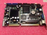 1pc Used Axiomtek motherboard SBC82610 Rev: A2