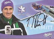 Autogramm Martin Schmitt Skisprung Olympiasieger 2002, Skispringer SUCHARD