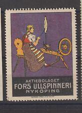 Swedish Poster Stamp Spinning Nykoping