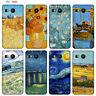 Custodia Cover Design Anukku Trasparente Air Gel Van Gogh Per Cellulari LG