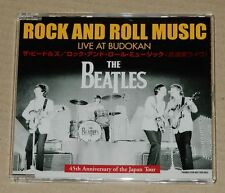 The Beatles Rock And Roll Music Live At Budokan Japan Promo 3 Trk CD Single RARE