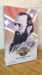 "General ""StoneWall"" Jackson 12"" 1:6 figure Sideshow Brotherhood n Arms Civil War"