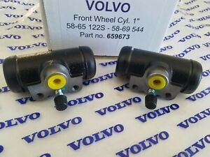 Volvo 544 1958-1969 & 122s 1958-65 Front Wheel Cylinder Set of (2) Reproduction