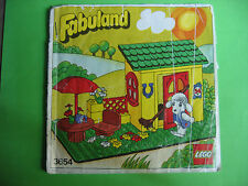 Lego Fabuland 3654 Bauanleitung, only Instructions