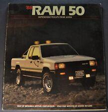 1988 Dodge Ram 50 Pickup Truck Catalog Sales Brochure Excellent Original 88