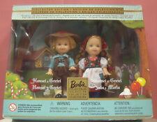 Mattel 28535 Hansel e Gretel Barbie da collezione Rarissimi anno 2000