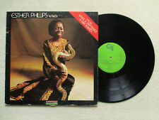 """LP 33T ESTHER PHILLIPS W/ BECK """"What a diff'rence a day makes"""" CTI KU23 FRANCE §"""