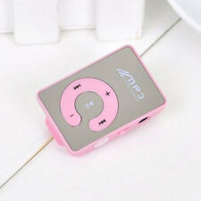7 Colors Mirror Clip USB Digital Mp3 Music Player UP To 8GB SD TF Cards