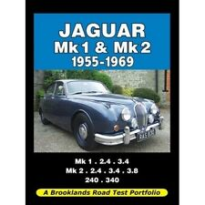 Jaguar Mk 1 & Mk 2 1955-1969 Road Test Portfolio book paper