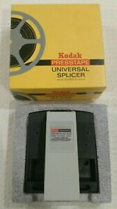 Kodak Presstape Universal Splicer  8mm Super 8 16mm D 550 1980 With Box Vintage