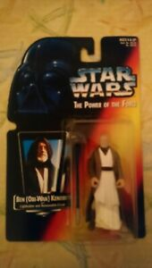 Star wars the power of the force red card Ben (obi wan )Kenobi figure