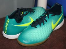 NIKE MAGISTAX ONDA II IC US 12 EU 46 Mens Indoor Soccer Shoe Teal