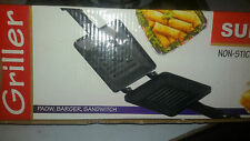 Grilled burger, Sandwich Gas Toaster / MAKER ( Non-Electric, Non Stick Coating).