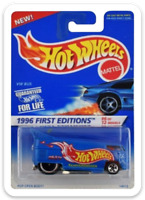 MAGNET 1996 Hot Wheels VW Drag Bus First Editions MAGNET for Fridge Toolbox