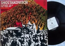SHOSTAKOVICH SYM 12 - GEORGE PRETRE / PHILHARMONIA ORCH: EMI CFP 14135 NM