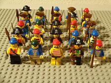 ( F5 ) LEGO FIGUREN 5 PIRATEN MIT WAFFE UND KOPFBEDECKUNGEN 6276 6285 6286