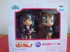 K-ON -  SET  2 PERSONAGGI  CHIBI K-ON! - Hirasawa Ui & Nakano Azusa.