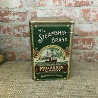 The STEAMSHIP BRAND Molasses Candy TIN Stewart & Young Scottish Nat'l Exhibition