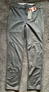NEW Under Armour Heatgear UA Baseball Relaxed Fit/Coupe Youth's Pant Sz YXL