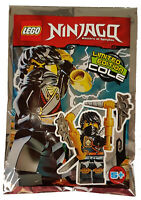 Lego® Ninjago™  Cole mit 2 Äxten Limited Edition Minifiguren Neu & OVP