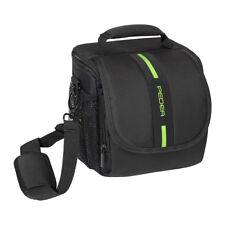 SLR/System Kameratasche mit Regenschutz Fototasche Schultertasche Tasche Größe M