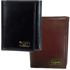 Guess Wallet Men's RFID Chavez X-Cap Trifold Leather Wallet