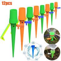 Dispositivo de riego de plantas dispensador Aspersores de jardín 12 Uds