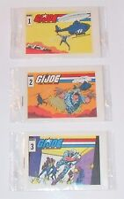 G.I. JOE STARDUSTER MINI 1 2 3 SET 1987 CEREAL PROMO STILL SEALED GI VERY RARE!