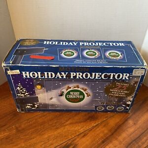 Mr. Christmas Motion Holiday Projector 25 Slides Rotates For Every Celebrations