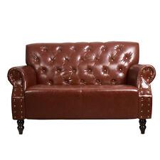 Chesterfield Sitzgruppe braun antik Wohnzimmer Couch Vintage Retro